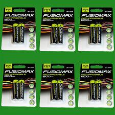 12x Aa Recargable Nimh Baterías, HR6, 1.2V, 800mAh, NI-MH, Pre Cargadas