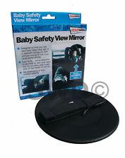 Adjustable Round Rear Baby Child Seat Car Safety Wide View Mirror Headrest Mount