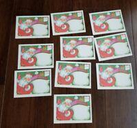 Vintage Christmas Postcards Lot of 10 Message from Santa Unused new
