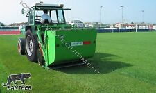 """Flail Collection Mower: Peruzzo Panther 2000, 79""""Cut,74cu' Cap, Ground Discharge"""