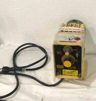 LMI MILTON ROY A151-92S ELECTROMAGNETIC DOSING / METERING PUMP 115V 1.40A 1.0GPD