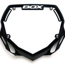 BOX PHASE 2 BMX NUMBER PLATE BLACK PRO