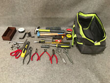 Tool Bag filled with Assorted Hand Tools - Hammers, Pliers, Screwdrivers, etc.
