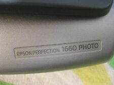 Epson Perfection 1660 PHOTO Flatbed Scanner Model J112A