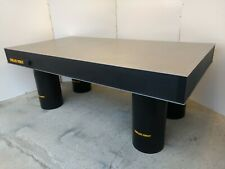 """crated TESTED 49.25"""" x 96"""" MELLES GRIOT OPTICAL TABLE, LEG SET breadboard"""