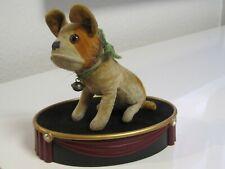 Steiff Sammlungsauflösung Hund Bully mit Knopf 1927/31 ca. 7cm groß Samt