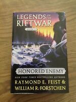 Honoured Enemy: Legends of the Riftwar Series by RAYMOND E. FEIST - 2001