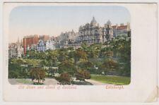 Midlothian postcard - Old Town and Bank of Scotland, Edinburgh