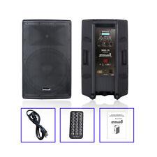 STARAUDIO 4000W 15 Inch Powered DJ Active Bluetooth Speaker System DJ PA Speaker