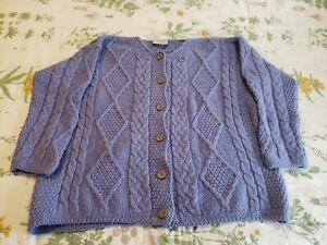 Connemara Knitwear Irish Wool Cardigan Ladies