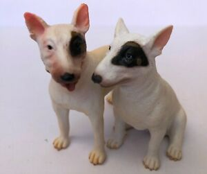 CollectA New with Tags Bull Terrier Male 88384 & Bull Terrier Female 88385 Set