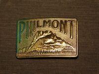 VINTAGE BSA BOY SCOUTS OF AMERICA PHILMONT METAL BELT BUCKLE