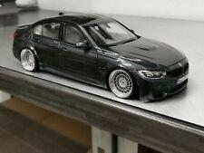 """Modellauto BMW M3 F80 mit 20"""" SDM-Forged-Alufelgen 1:18 Tuning/Umbau"""