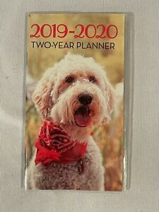 2019-2020 Calendar Pocket Planner Puppy Dog 🦋