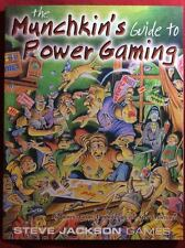 The Munchkin's Guide to Power Gaming - Steve Jackson Games - NEW