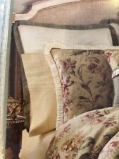 Croscill ~ Euro Pillow Sham ~ Cottage Rose Collection ~ Antique ~ New