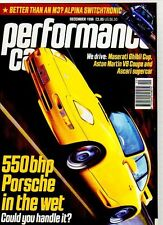 PERFORMANCE CAR MAGAZINE - December 1996