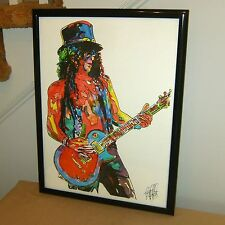 Slash, Guns N' Roses, Lead Guitar, Guitarist, Hard Rock, 18X24 POSTER w/COA 2