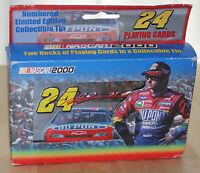 Vintage JEFF GORDON Collectable Tins Playing Cards Racing # 24 NASCAR 2000