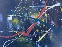 Pietro Sarandrea - Tecnica Mista su tavola - 30x24 cm - certificato artista