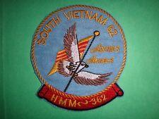 USMC HMM-362 SOUTH VIETNAM 1962 ARCHIE'S ANGELS Machine Embroidered Patch
