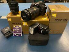 Nikon D7000 Bundle Gear (w/ flash and 2 Lens - see description)