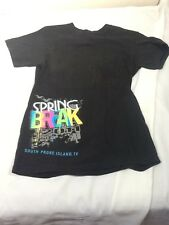 St767 Delta Pro-Weight Black Spring Break 2011 T-Shirt Small