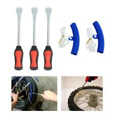 3 Tire Lever Tool Spoon + 2 Wheel Rim Protectors Tool Kit for Motorcycle T4A8