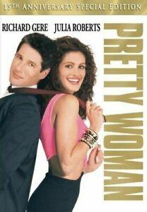 Pretty Women DVD Julia Roberts Drama RomCom Classic Movie - 15TH ANNIVERSARY
