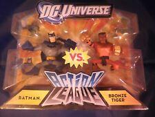 DC Universe - Batman vs. Bronze Tiger - Action League - NIB