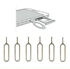 6x Universal Sim Card Eject Removal Pin Tray Open Tool For iPhone iPad Samsung
