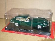UNOPENED E-TYPE JAGUAR 1/24 SCALE ABOUT  200 MM OR 8 INCHES LONG AS IN PICTURE'S