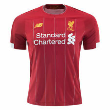 Liverpool New Balance 2019/20 Home Replica Short Sleeve Jersey - Red W/Tags