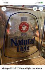 Natural Light Bar Mirror