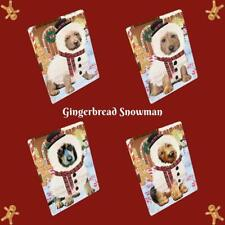 Christmas Gingerbread snowman Dog Cat Pet Photo Lovers Small Mini Magnet