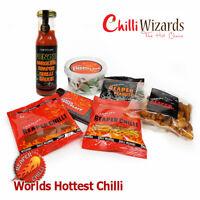 Utimate Carolina Reaper Chilli Head  Collection. Chiili Sauce, Sweets, Snacks