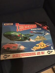 Matchbox Thunderbirds Rescue Pack Action Figures