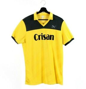 70s 80s PUMA Crisan 7 vintage t-shirt jersey tshirt Tee West Germany nylon M L