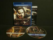 SEASON OF THE WITCH BLU-RAY 2 DISC SET NICOLAS CAGE NEW FREE SHIP