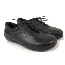 Birkenstock Footprints Womens 38 Leather Lace Up Shoe Brown