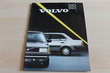 130146) Volvo 340 360 Prospekt 1987
