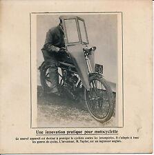 Moto c. 1910 - Innovation Parebrise Bulle Taylor - 51