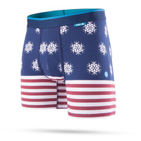 STANCE FLAKE FLAG COMBED COTTON WHOLESTER BOXERS M902D17FLA