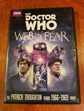 Doctor Who Web of Fear Dvd Patrick Troughton