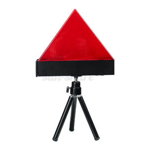 Universal Car Triangle Warning Strobe Light Tripod Emergency Security Flash