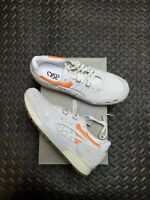 ASICS GEL Lyte Sneakers Casual mens shoes White orange Mens US size 9.5