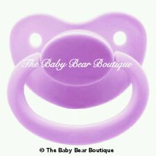 Lilac adult pacifier dummy NUK 6 LIMITED DDLG ABDL