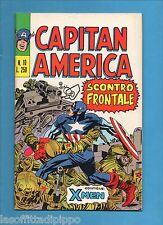 SUPER EROI - CAPITAN AMERICA - CORNO -N.10- 29 AGOSTO 1973 - NON DI RESA