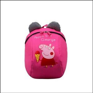 Peppa Wutz Peppa Pig Rucksack  Vorschule Kita Tasche Pink Kinder cool neu Schule