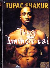 Thug Immortal: The Tupac Shakur Story  2pac New DVD Free Shipping